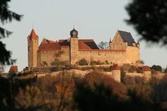 Vesta Coburg - castle in the town I was born in Germany