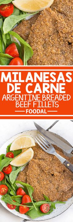 How to make beef milanesa an easy recipe from argentina food milanesas de carne or breaded beef fillets are a simple staple dish in argentina best forumfinder Image collections