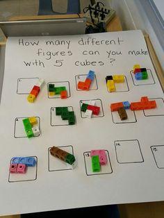 Place Value Math Centers - A Kinderteacher Life Year 1 Maths, Early Years Maths, Early Math, Early Learning, Maths Eyfs, Eyfs Classroom, Numeracy, Kindergarten Stem, Preschool Math