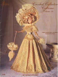 Barbie, Crochet Collector Costume Vol. 34