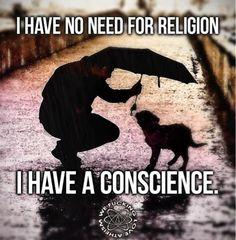Religion divides..........
