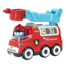 Coche de bomberos! Fire Engine, Engineering, Trucks, Toys, Car, Kid Games, Firefighters, Cars, Activities