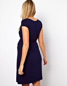 £17.50 ASOS Maternity Belted Dress With Scoop Neck