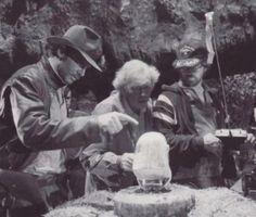 Indiana Jones behind the scene