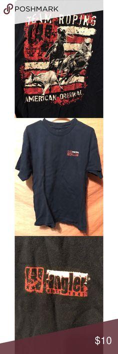 Men's Wrangler Shirt Men's Wrangler tee shirt! Perfect  for the guy who loves his wrangler gear 👖 Wrangler Tops Tees - Short Sleeve