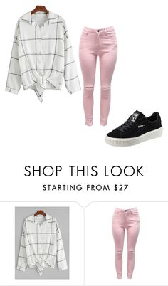 """Untitled #300"" by aries25 ❤ liked on Polyvore featuring Puma"