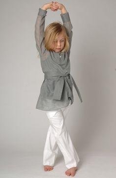 CC Eider tunic grey linen CC Raven pants white linen  summer 2013/2014