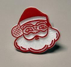 1970s plastic Santa Claus ring