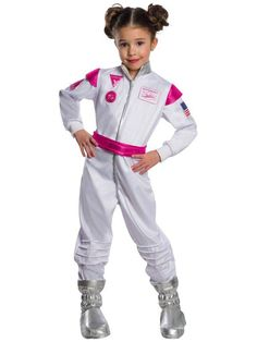 CostumeBox offers quick delivery and the best prices for Costumes and Party Accessories. Looking for Barbie Astronaut Girls Costume? Dress Up Costumes, Girl Costumes, Barbie Costumes, Mattel Barbie, Barbie Dress, Astronaut Costume, Pretty Costume, Moon Boots, Halloween Celebration