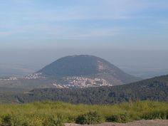 Mount Tabor, halfway between #Nazareth and the Sea-of-Galilee, is, according to one ancient Christian tradition, the site of the Transfiguration of Christ, during which Jesus began to radiate light and was seen conversing with Moses and Elijah.