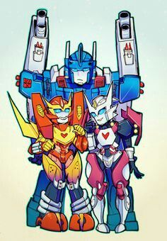 Roddy, Mags, and Drifter.