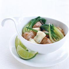 Thai Chicken Stew with Potato-Chive Dumplings | Food & Wine