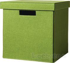Køb Kurv i filt til opbevaring - Grøn - (uden låg). Flotte opbevaringskasser fra Cinas lavet af genbrugsmateriale. Meget stærk kvalitet. Man kan sidde på kassen. Husk at låget skal tilkøbes... #Cinas #Opbevaringskasser #Filtkurv #Opbevaring #Genbrugspapir #Genbrug #RecycledMaterials #Recycle