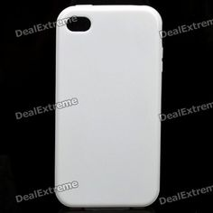 Color: White - Material: TPU - Protects your phone from scratch scrape dust and shock - Special design for Iphone 4/4S http://j.mp/1ljBrw1
