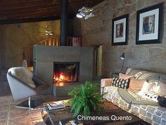 Chimenea Quento modelo Acuña con Stuv 21/85 DF   par ChimeneasQuento