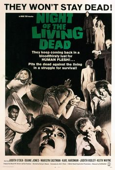 Night of the Living Dead (1968)  George Romero  Theatrical Release Poster