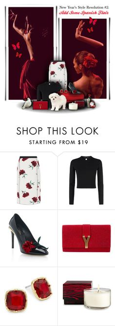 """""""Style Resolution #2:  Add Some Spanish Flair"""" by rachelegance ❤ liked on Polyvore featuring Oscar de la Renta, Proenza Schouler, Yves Saint Laurent, Lauren Ralph Lauren, Chanel, chic, oscardelarenta, SpringStyle, styleresolution and spring2016"""