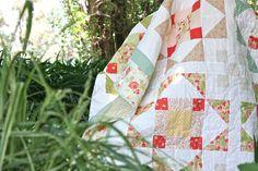 Image of 'Summer's Blush' PDF quilt pattern