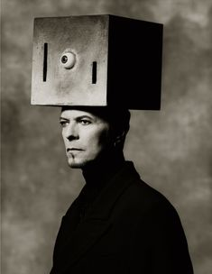 A creative photographic portrait of: David Bowie taken by photographer: Albert Watson in New York City in 1996 Angela Bowie, David Bowie, Sarah Moon, Paolo Roversi, Peter Lindbergh, The Thin White Duke, Black And White, Black Star, Martin Schoeller