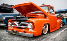 mooneyes christmas party 2012 | '55 Ford