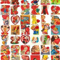 Vintage Valentines {Free Printables}