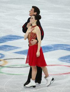 Tessa Virtue and Scott Moir - Team Ice Dance - Sochi 2014