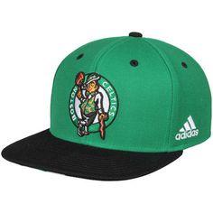 c1348b396a8 Men s adidas Kelly Green Black Boston Celtics On-Court Adjustable Snapback  Hat