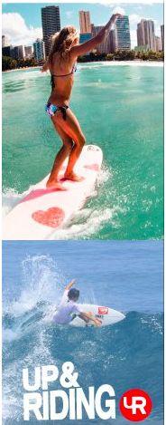 Surfer girl Vanina Walsh  http://www.vaninawalsh.com/
