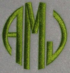 Circle Full Embroidery Fonts | Apex Embroidery Designs, Monogram Fonts & Alphabets