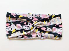 Tie Headband, Turban Headbands, Headbands For Women, Head Wraps, Color Patterns, Back To School, Flora, Homeschool, Spandex