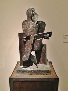 The Guitar Player | Jacques Lipchitz, 1918, Los Angeles Coun… | Flickr