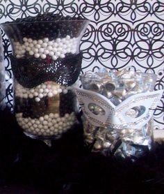 masquerade event ideas | masquerade party centerpiece ideas | Masquerade sweet 16 dance