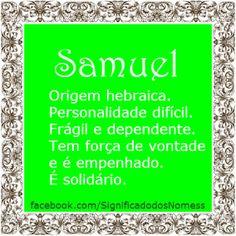 Significado do nome Samuel | Significado dos Nomes