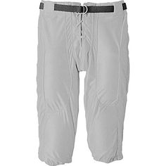 Alleson Athletic Adult High Luster Slotted Football Pant , White, medium Baseball Equipment, Luster, Pajama Pants, Pajamas, Sweatpants, Football, Athletic, Medium, Clothes