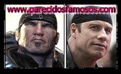 Parecidos con famosos: Marcus Fenix con John Travolta