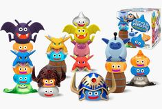 *squee* New Dragon Quest Toys