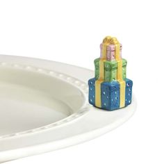 The Paper Store nora fleming™ mini Present Platter Ornament #happybirthday #thepaperstore #present