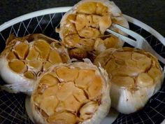 How to make roasted garlic to ward off vampires (and spread on a toasted baguette)