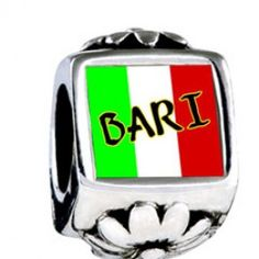 Bari Photo Flower Charms  Fit pandora,trollbeads,chamilia,biagi,soufeel and any customized bracelet/necklaces. #Jewelry #Fashion #Silver# handcraft #DIY #Accessory
