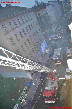 BF Wien: Zimmerbrand #feuerwehr #firefighters