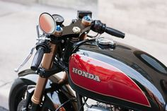 Honda CB550 Cafe Racer ~ Return of the Cafe Racers