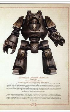 Iron warrior dreadnought