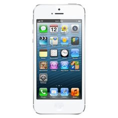 iPhone 5 64GB White - AT with 2-year contract $427.99