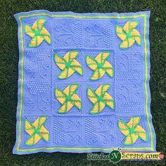 Ravelry: Dreaming of Pinwheels pattern by Pia Thadani