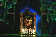 The Wizard's chamber set from Wicked