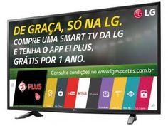 """Smart TV LED 49"""" LG Full HD 49LH5700 - Conversor Digital 2 HDMI 1 USB Wi-Fi"""