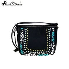 MW398-8360 Montana West Studs Collection Crossbody Bag