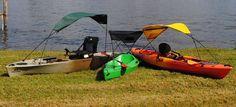 "Adventure Canopies: Kayak Sunshade Accessory ""Stay COOL and PADDLE on"" #AdventureCanopies"