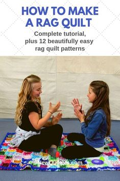 Most recent Pic rag Quilting Suggestions You've decided to get started quilting. You cannot put it off to try and do a person's beautiful tapestry Rag Quilt Patterns, Sewing Patterns, Pillow Patterns, Skirt Patterns, Blouse Patterns, Quilting For Beginners, Sewing Projects For Beginners, Quilting Tips, Fleece Hat Pattern