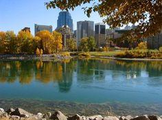 Prince Island Park, Calgary, Alberta, Canada! So pretty!!!